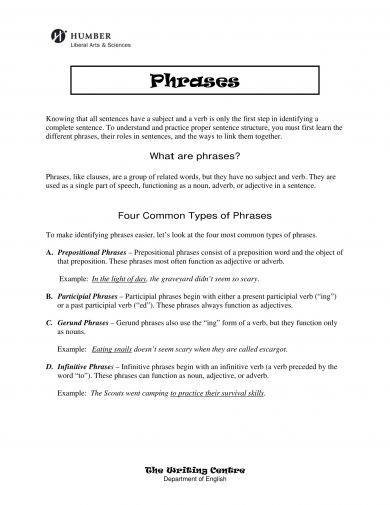 infinitive and other phrases examples1