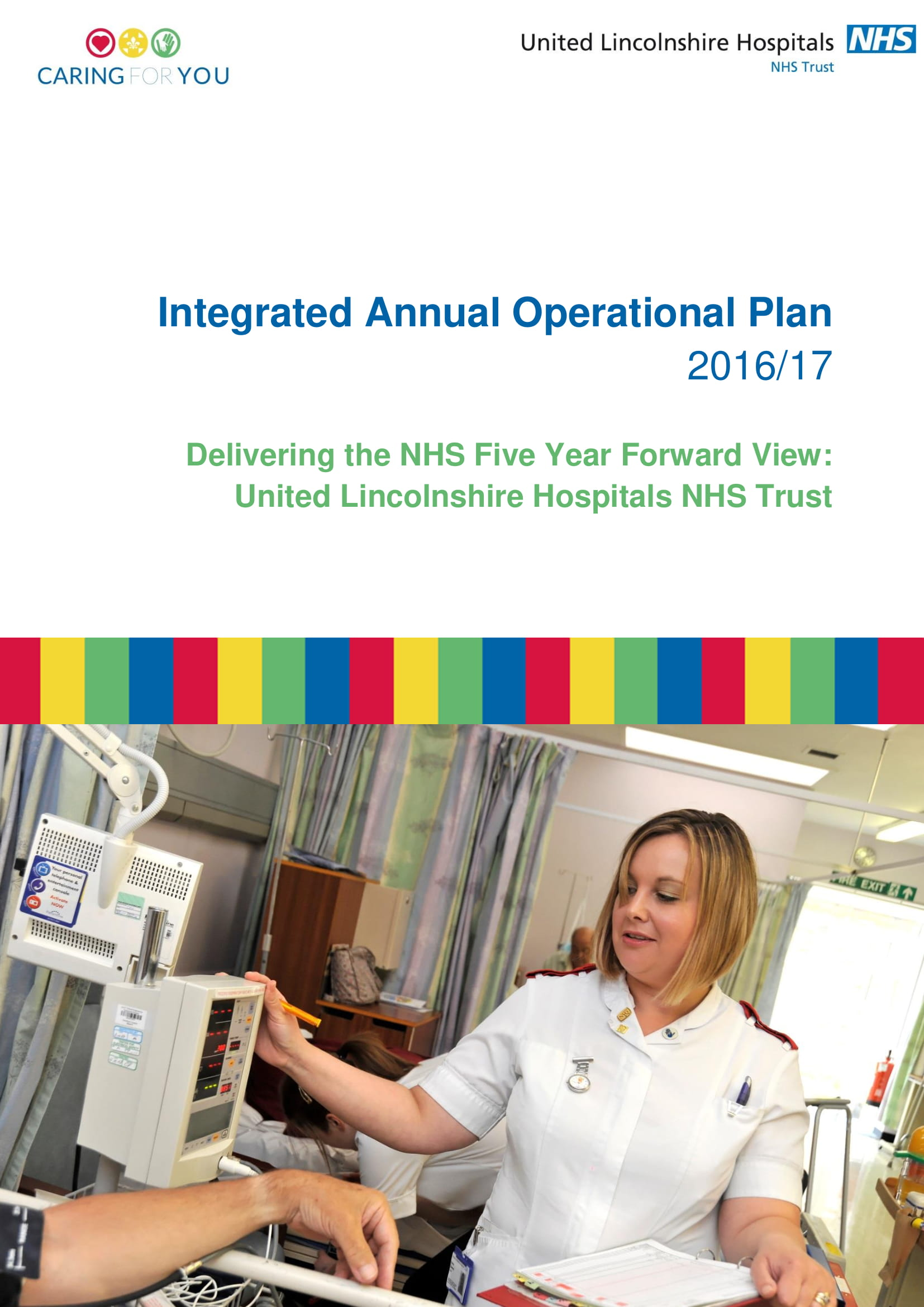 integrated annual operational plan example