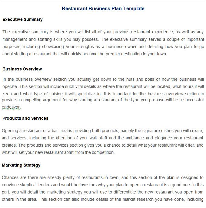 9 Restaurant Strategic Plan Examples Pdf Examples