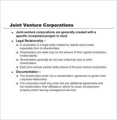 joint venture partnership agreement1