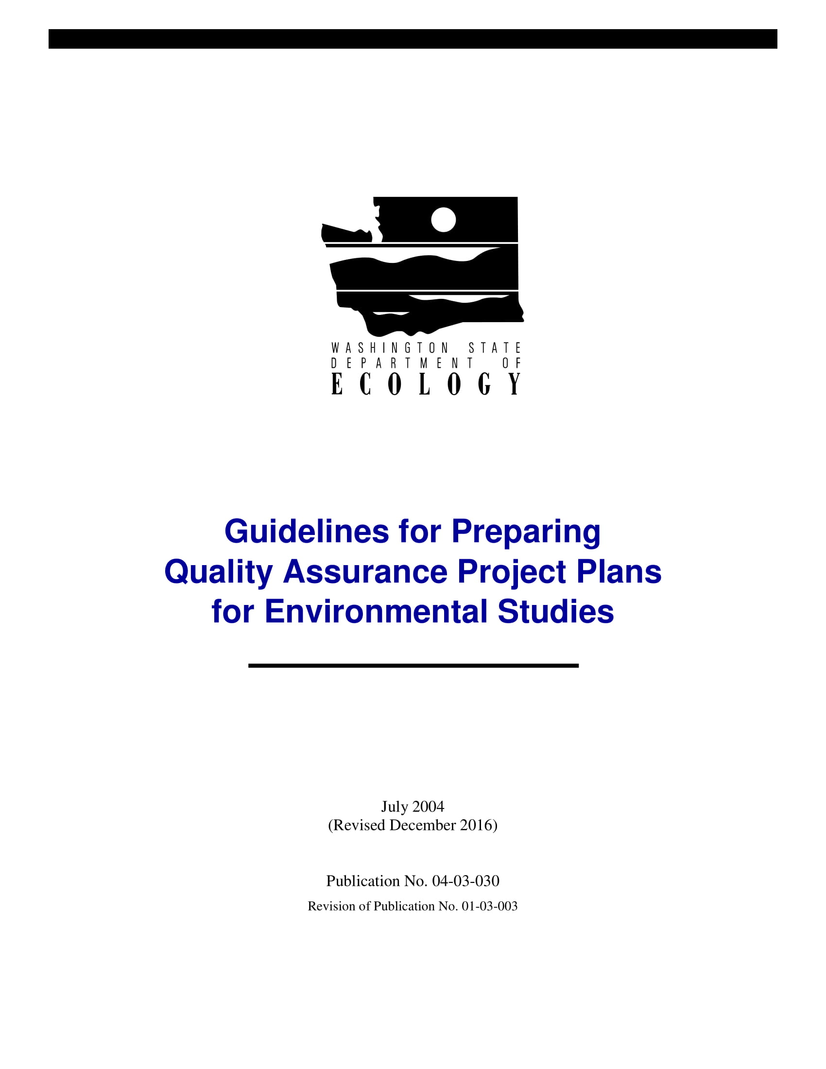 laboratory quality assurance project plan example 0011