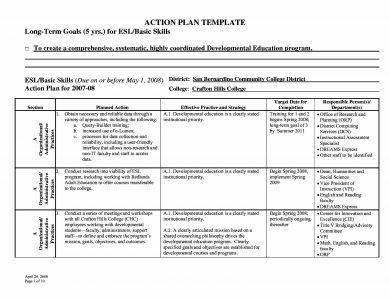 long term work action plan template1