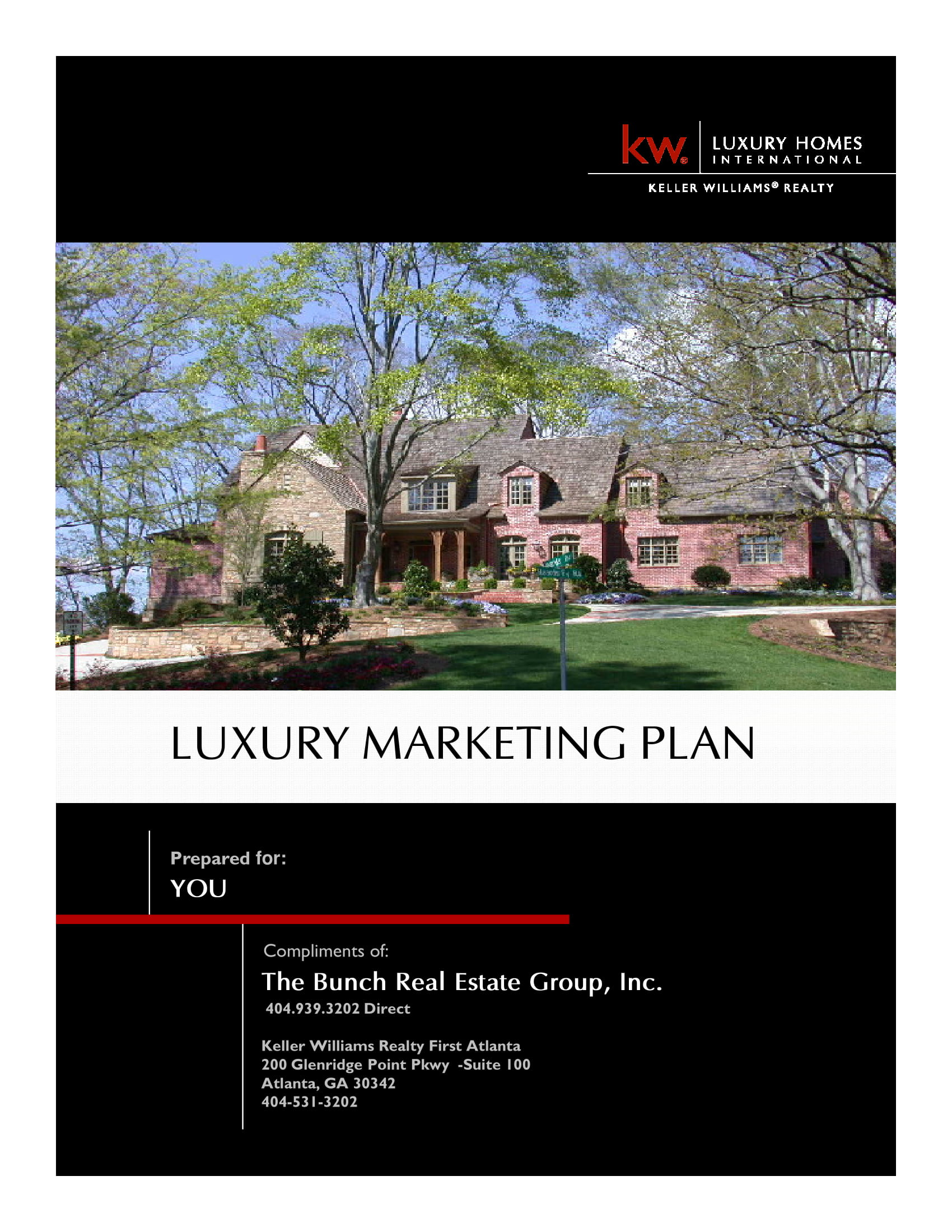 luxury real estate marketing plan example 01