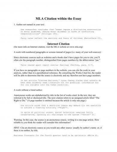 Religion And Science Essay Mla Citation Reference Essay Example Process Essay Example Paper also Examples Of Thesis Essays  Reference Essay Examples  Pdf  Examples An Essay On English Language