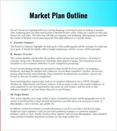 market plan outline1