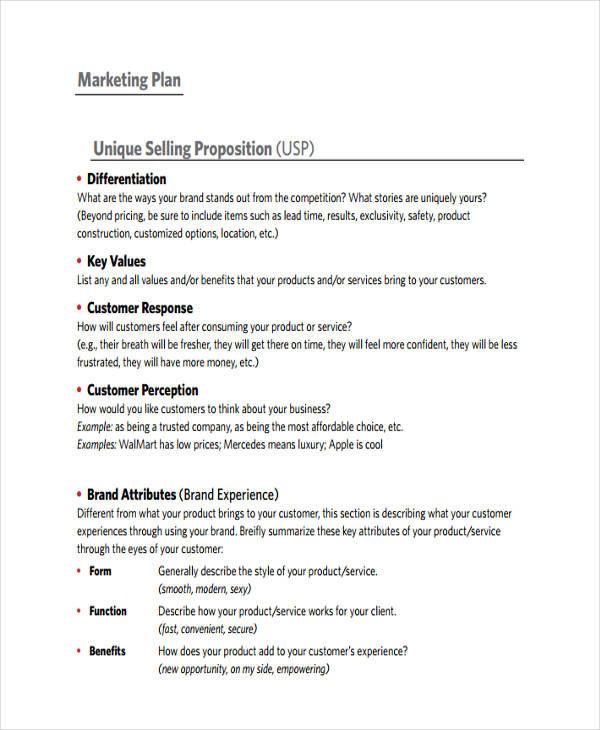 marketing plan ideas