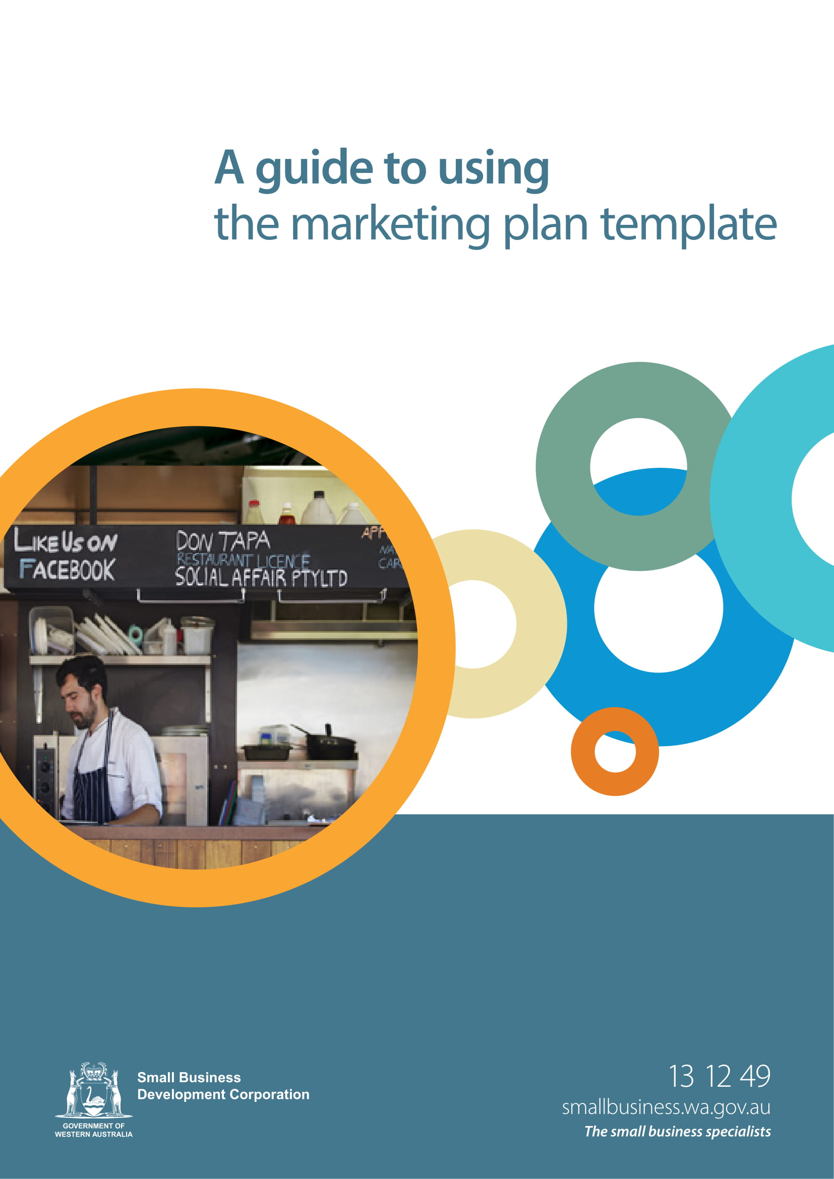 marketing plan template example 1