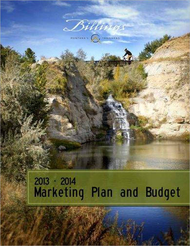 marketing plan and budget for a project example