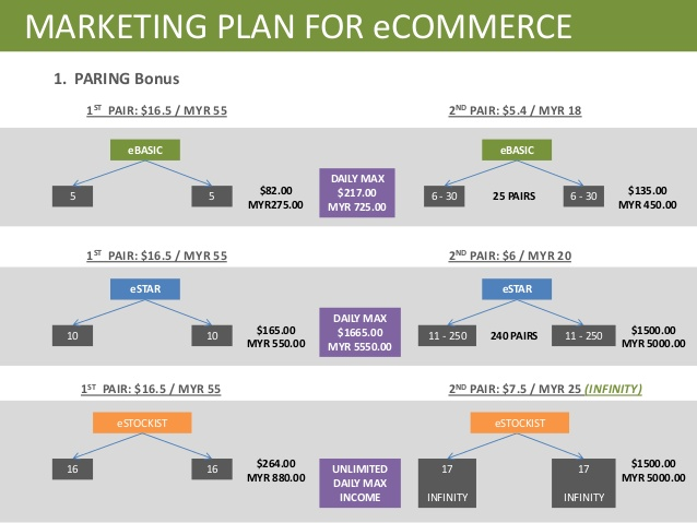marketing plan for ecommerce example