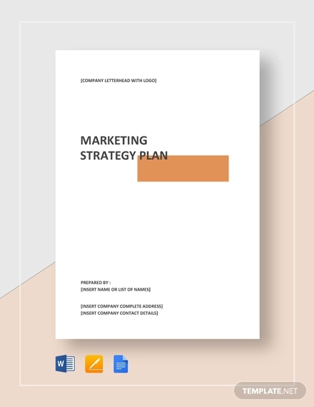 marketing strategy plan example