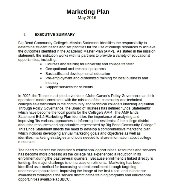 9 advertising and marketing business plan examples pdf new executive summary for advertising business plan example friedricerecipe Image collections
