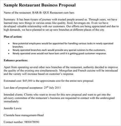 new restaurant action plan example1