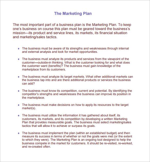 new restaurant marketing plan example