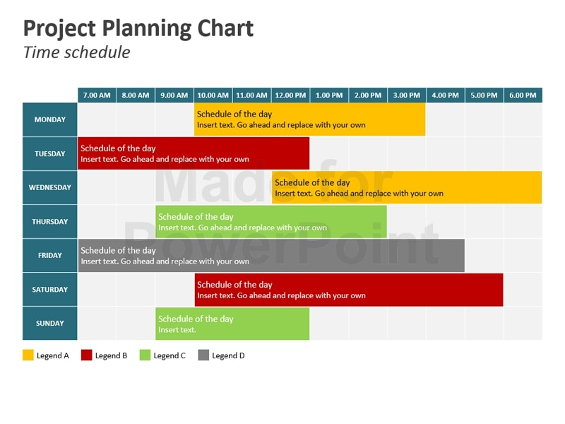 nonprofit project plan time schedule example
