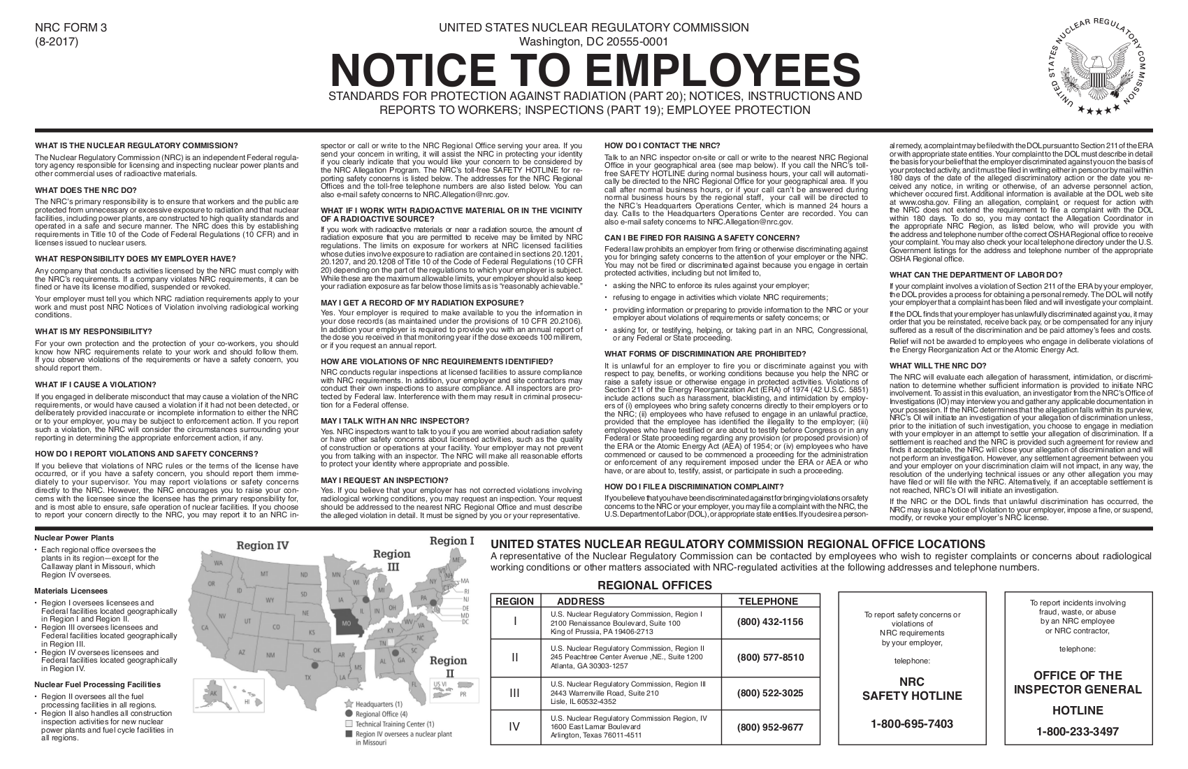 notice to employees example