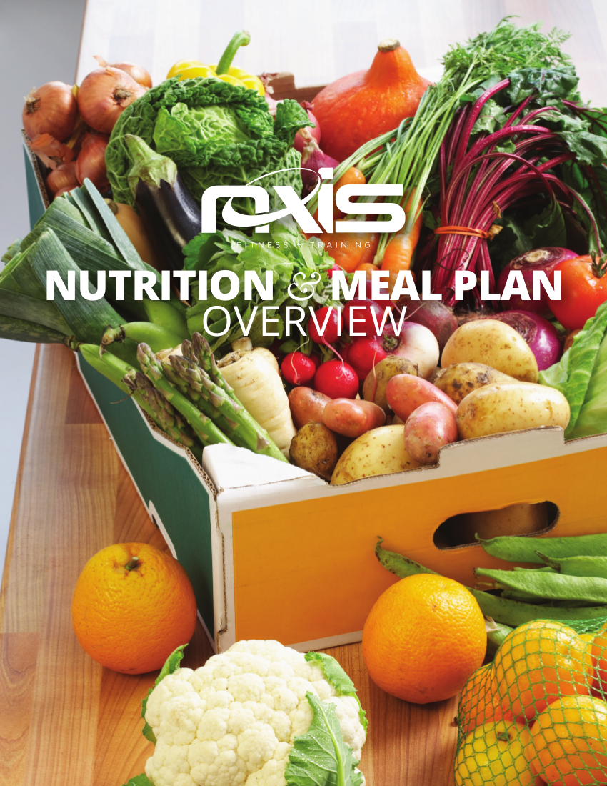 nutrition and meal plan overview