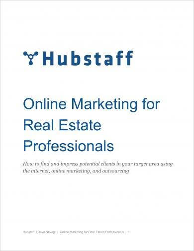 online marketing plan for real estate professionals example