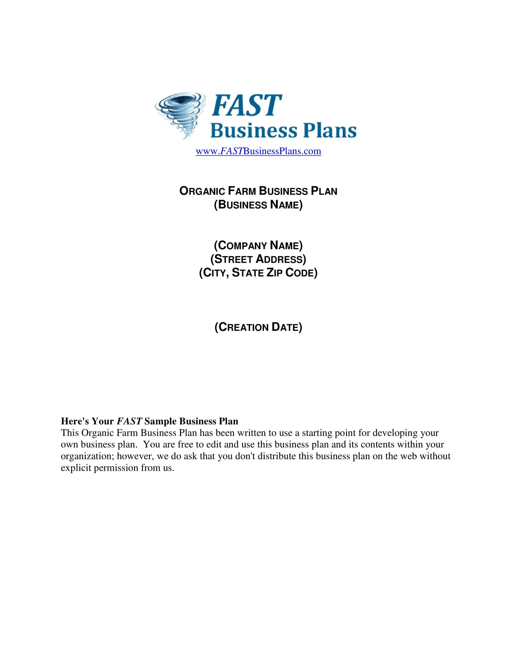 14 Farm Business Plan Examples Pdf