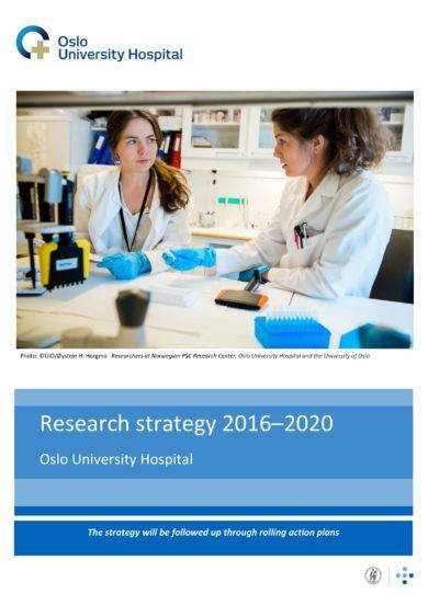 oslo university hospital research strategic plan example1