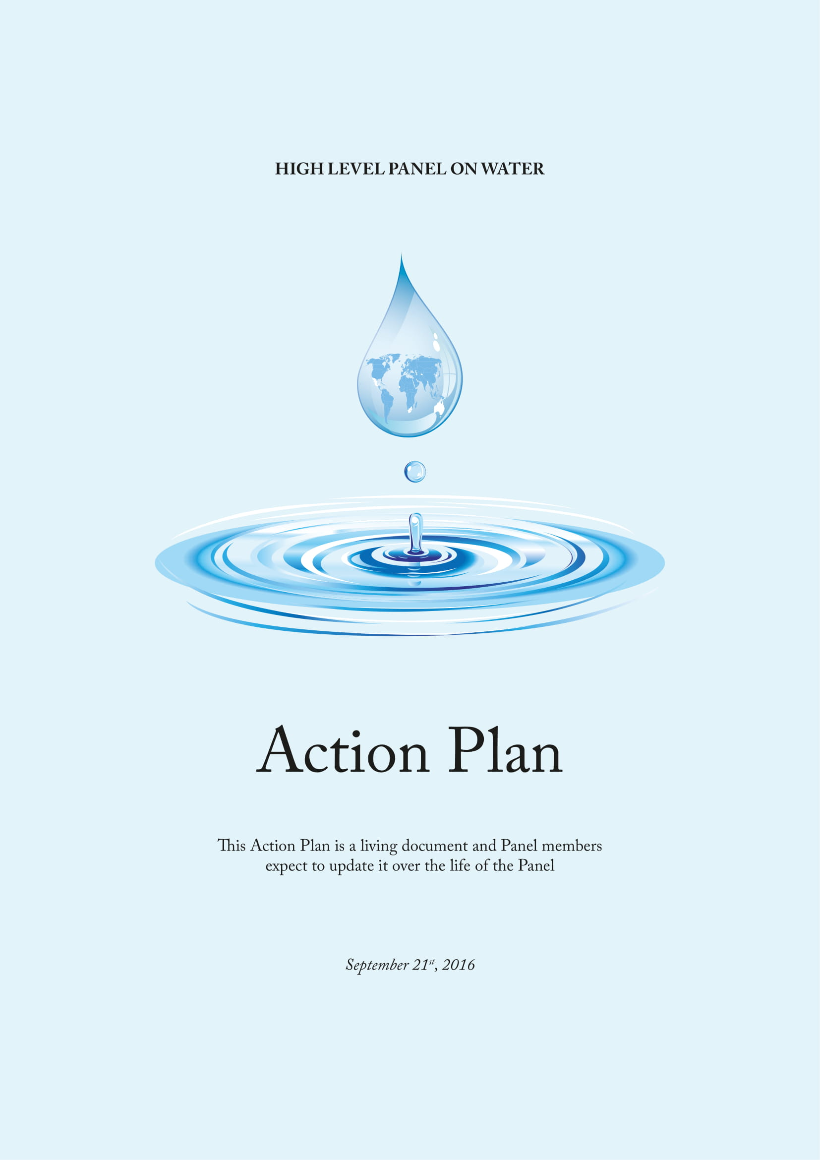 panel simple action plan example