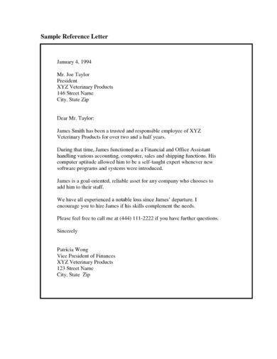 personal reference letter template1