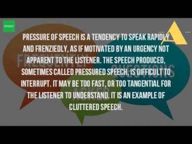 pressure of speech 3