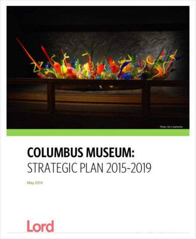 printable museum strategic plan