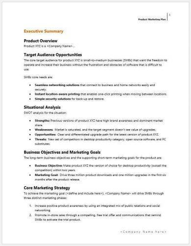 product marketing plan template1