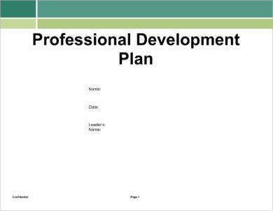 professional development action plan for employees example