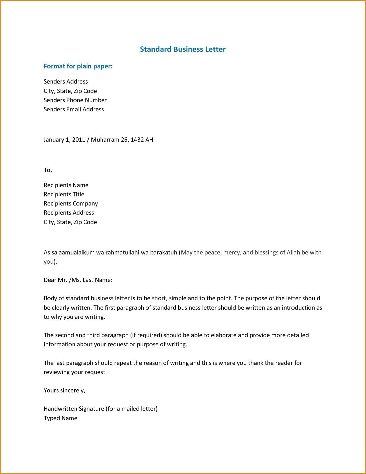Business Email Writing Sample Pdf 8 Sample Professional Email
