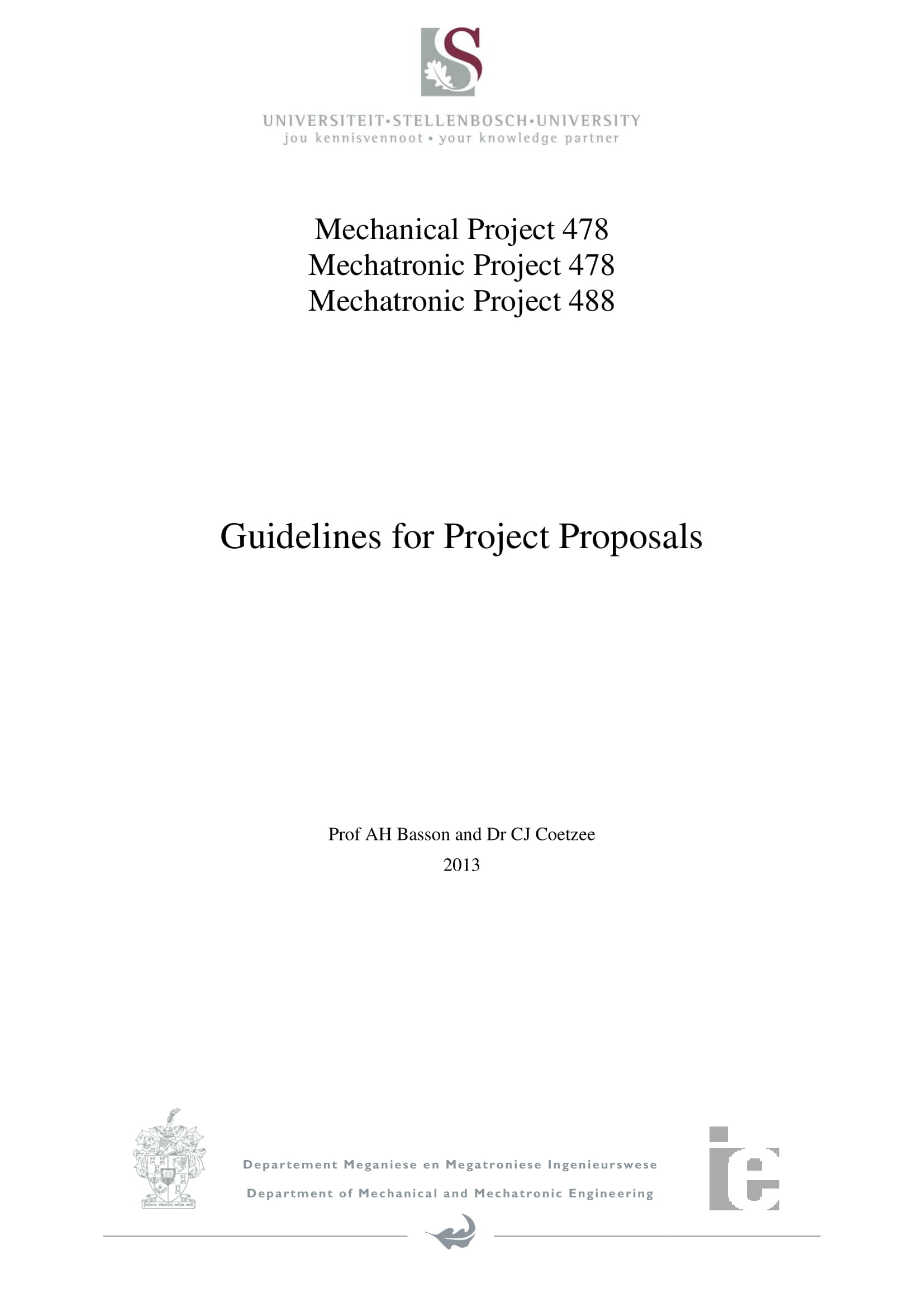 project proposal guidelines for students example 01
