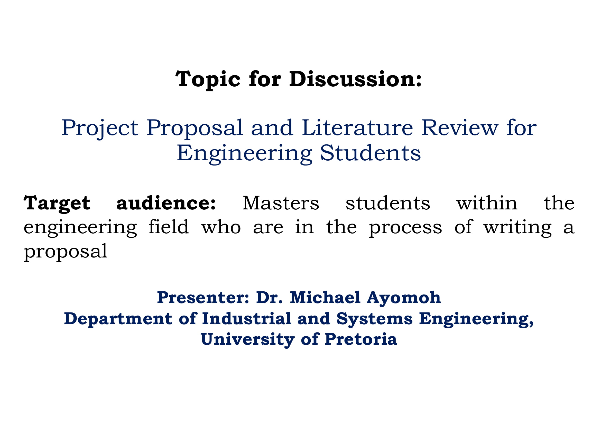project proposal and literature review for engineer students example 011