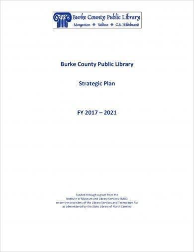 public library strategic plan example