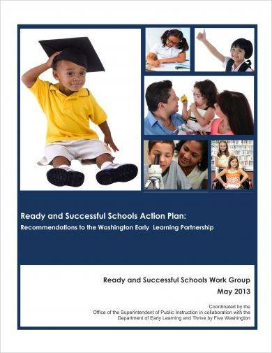 ready and successful school action plan example1