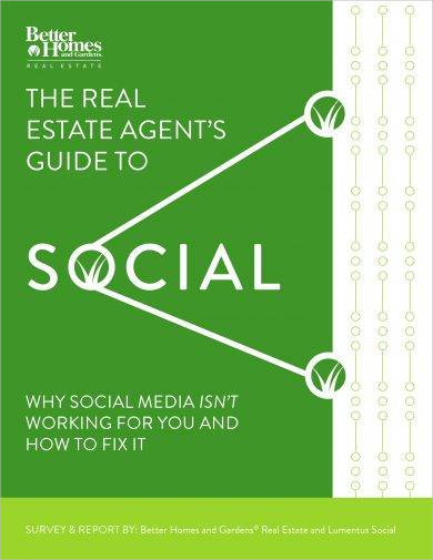 real estate agent social media marketing plan example