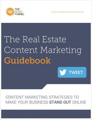 real estate content marketing guidebook for real estate agents example
