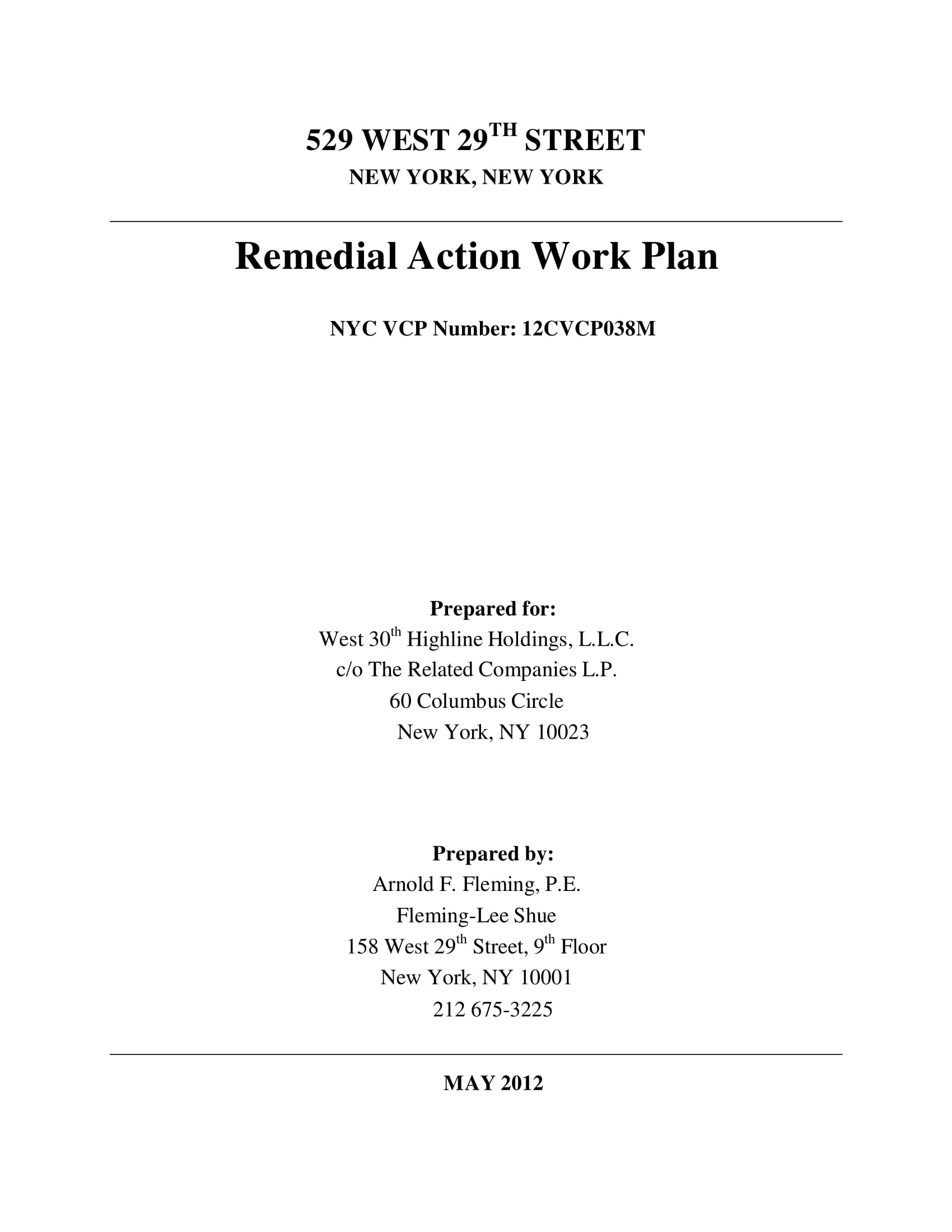 remedial action work plan example 001
