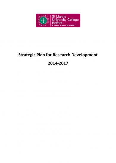 research and development strategic plan example1