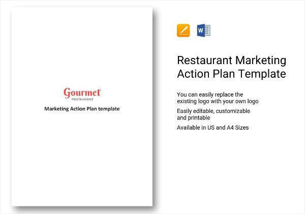 restaurant marketing action plan example 6