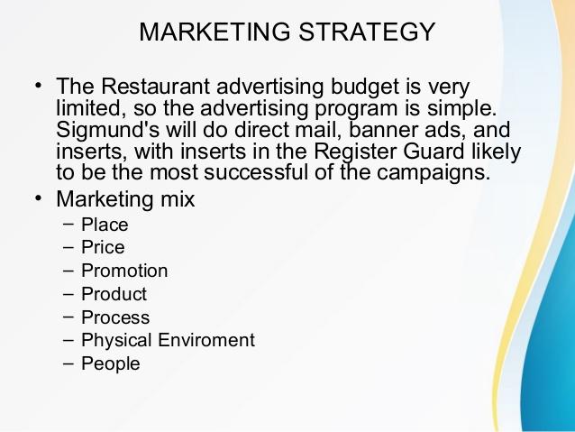 13  restaurant marketing plan examples