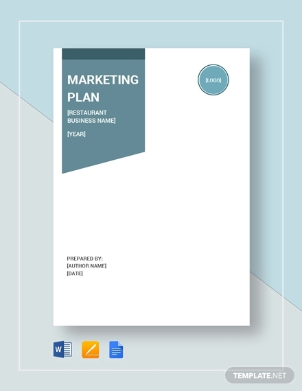 restaurant marketing plan example