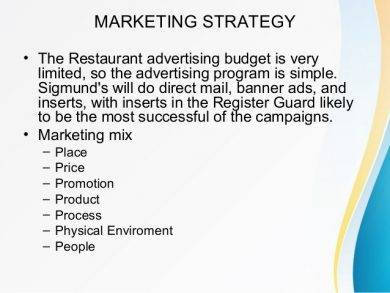restaurant marketing strategy