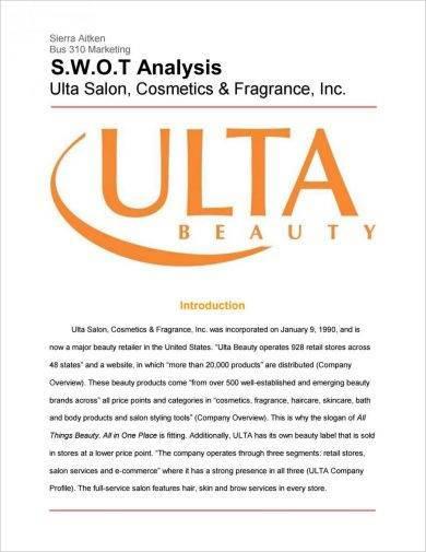 retail swot analysis for ulta1