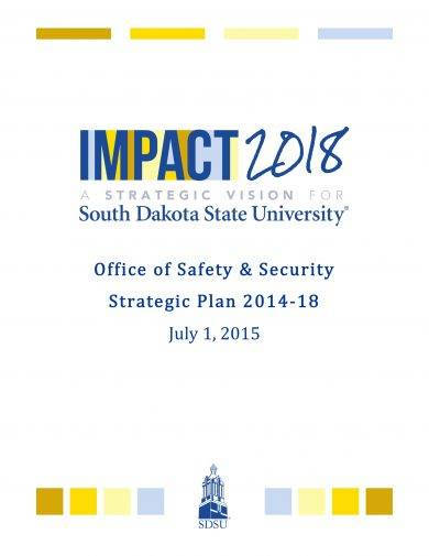 safety and security strategic plan example