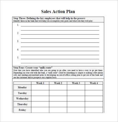 sales action plan template1