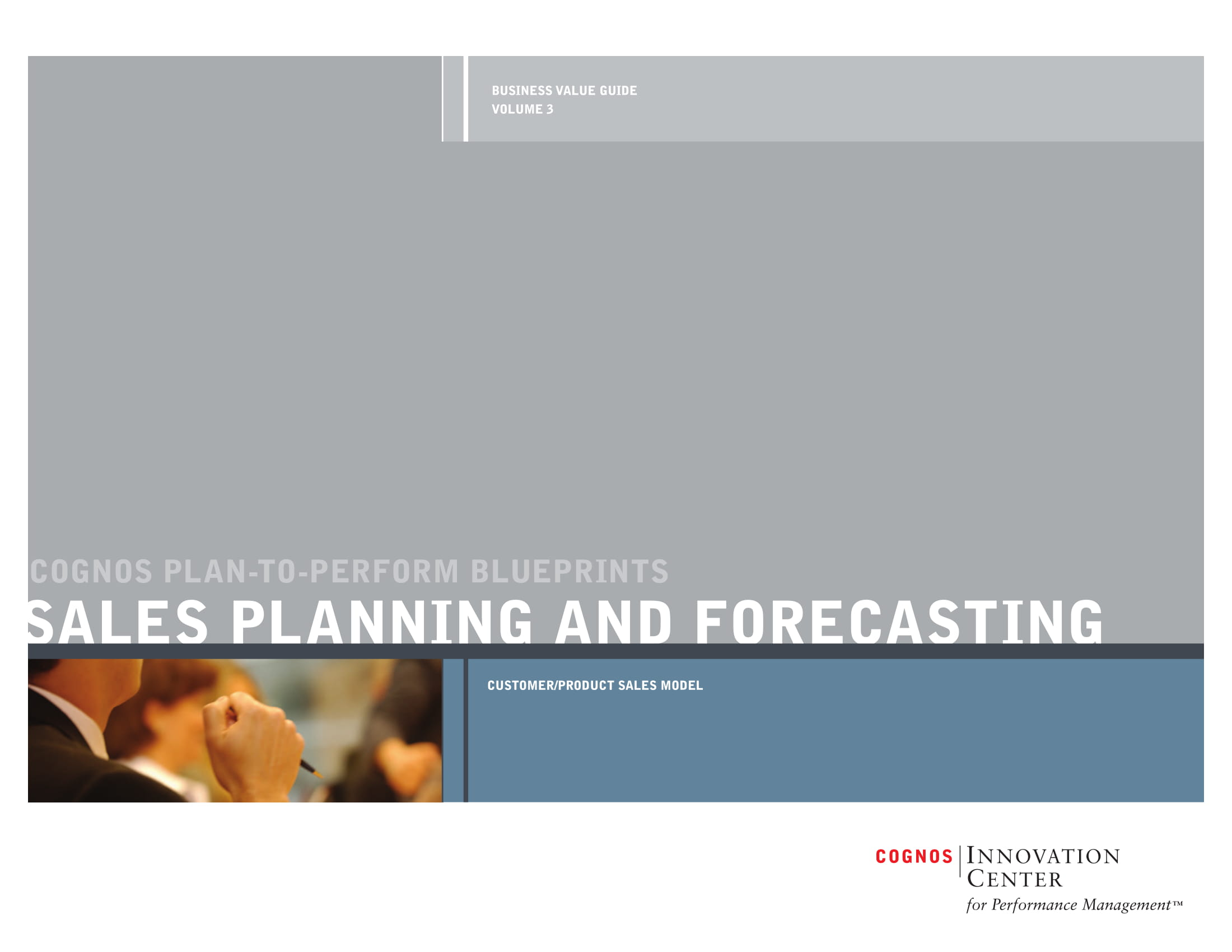 sales action planning and forecasting example 01