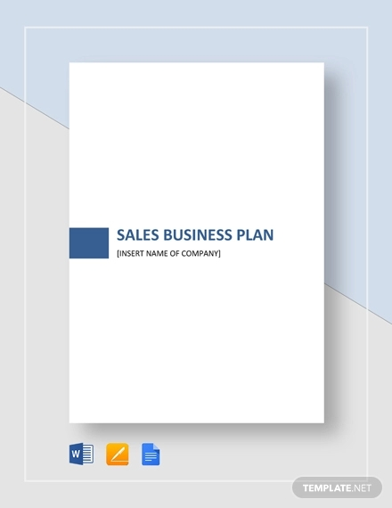 sales business plan