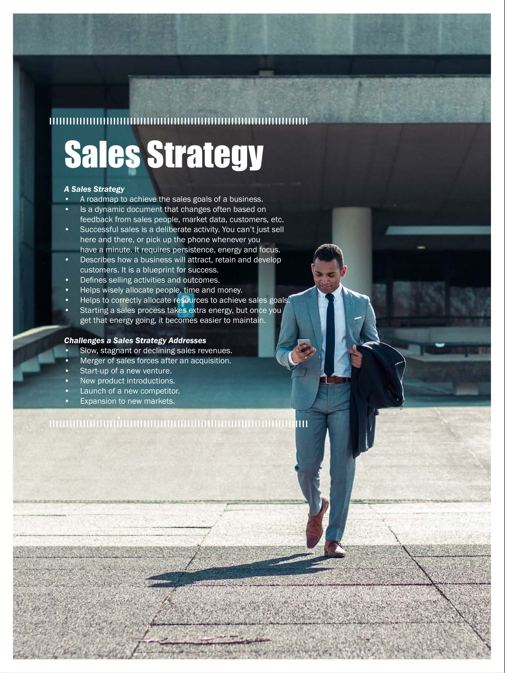 sales strategy planning example 12