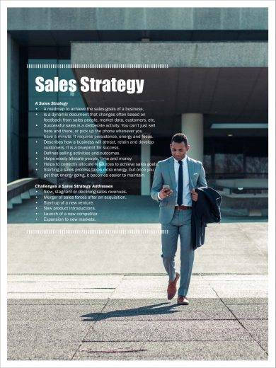sales strategy planning example