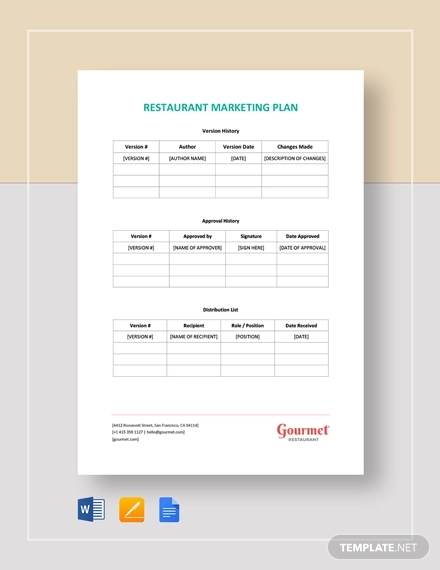 12 Restaurant Marketing Plan Examples Pdf Word Examples